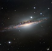 NGC 1055 spiral galaxy, optical image
