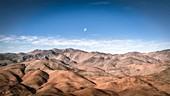 Moon over the Atacama Desert, Chile