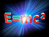 Einstein's mass-energy equation, illustration