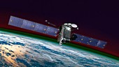 GOLD mission on SES-14 satellite, illustration