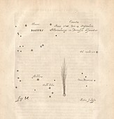 Comet of 1647, illustration