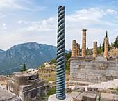 Serpent column of Delphi, Greece