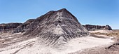 Bentonite clay mound, Arizona, USA