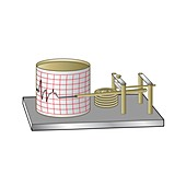 Barograph, illustration