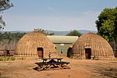 Beehive Huts at the Mlilwane Wildlife Sanctuary, Swaziland