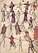 Dance of Death, 16th century