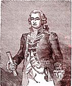 Hyde Parker, British Admiral