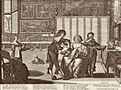 Blood-letting, 17th century