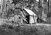Australian pioneer camp, 19th century