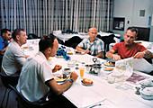 Apollo 11 pre-launch breakfast, July 1969