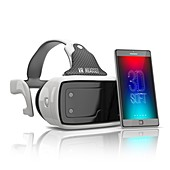 Virtual reality technology, illustration