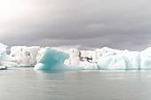 Iceberg in lagoon, Iceland