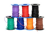 Spools of electrical cables