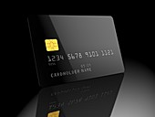 Bank card, illustration