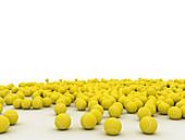 Tennis balls, illustration