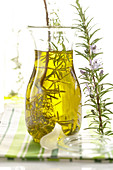 Homemade rosemary oil