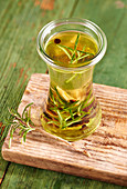 Rosemary spice oil with juniper, cloves and pepper