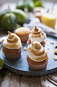 Baiser-Cupcakes