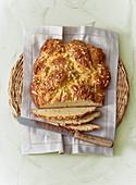 Marzipan quark bread
