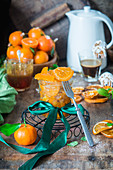 Homemade candid orange peel