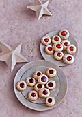 Husarenkrapfen (Hussar cookies)