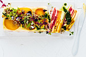 Summer beetroot terrine