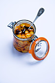 Pickled spice kumquats