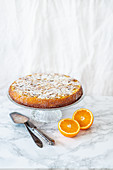 Flourless orange and almond cake (Spain)