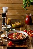 Rustikale Tomatensuppe