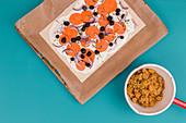 Süßkartoffeln 'To Go' 2x anders - als Flammkuchen und mit Quinoa