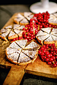 Mini poppyseed cakes