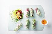 Summer rolls with tofu