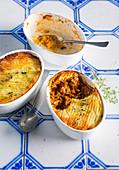 Hachis Parmentier, French casserole