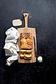 Sesame Halvah Tea Cake