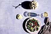 Kale Wild Rice Salad