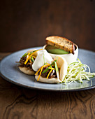 Bao buns with lamb