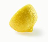 Zitronenhälfte