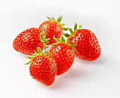 Five strawberries