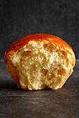 A Buchtel (baked, sweet yeast dumpling)