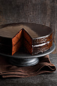 Sachertorte (chocolate cake)