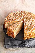 An Esterhazy cake