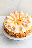 A Charlotte cake