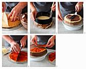 Erdbeer-Sahne-Roulade zubereiten