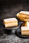 Vanilla slices (mille feuille)
