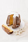 Pandoro (traditional Christmas cake, Italy)