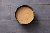 Smoky almond and date dressing