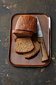 Wholemeal bread made from ancient grains
