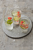 Cucumber and melon drinks
