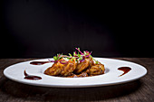 Patia curry with shrimp (India)