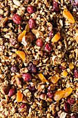 Seedy, fruity granola
